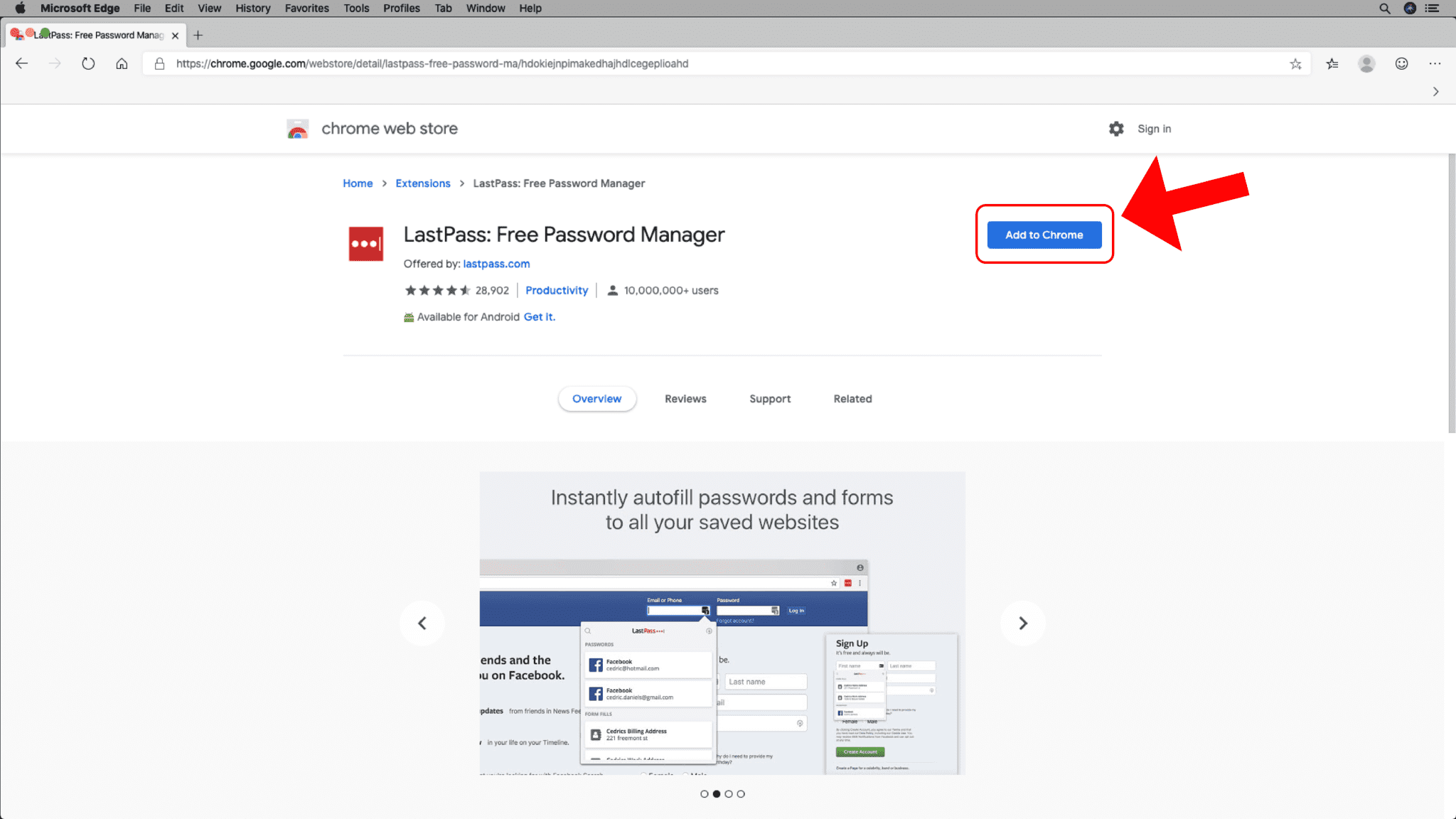 Add Chrome Extensions - Step 4